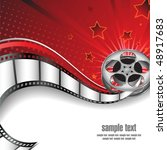 background with cinema motives | Shutterstock .eps vector #48917683
