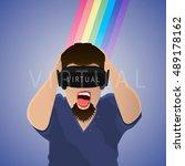 vector illustration of the... | Shutterstock .eps vector #489178162