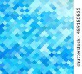 Blue Roof Tiles Pattern ...