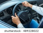 elegance of the interior.... | Shutterstock . vector #489228022