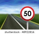 speed limit | Shutterstock . vector #48922816