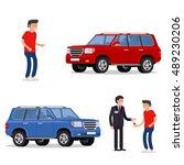 design concept of choice car ... | Shutterstock .eps vector #489230206