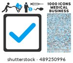 checkbox vector icon with 1000...