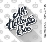 All Hallows Eve Hand Drawn...