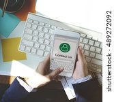Small photo of Contact Address Book Communication Information Concept
