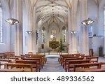 eisleben  germnany   jan 16 ... | Shutterstock . vector #489336562