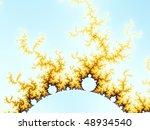Mandelbrot Hill Abstract