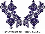 hungarian folk art | Shutterstock .eps vector #489356152