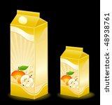 design of packing milky... | Shutterstock .eps vector #48938761