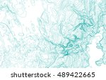imaginary topographic map ... | Shutterstock .eps vector #489422665