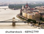 Budapest landscape - stock photo