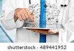 doctor. | Shutterstock . vector #489441952