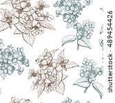 Seamless Hand Drawn Pattern ...