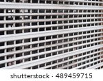 security shutters  grilles  ... | Shutterstock . vector #489459715