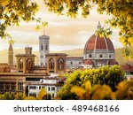 cathedral of saint mary of the... | Shutterstock . vector #489468166