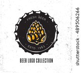 Creative Logo Design With Beer...