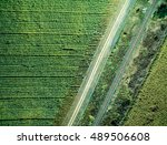 track and parallel railway in... | Shutterstock . vector #489506608