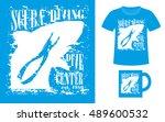 pattern design concept for... | Shutterstock .eps vector #489600532