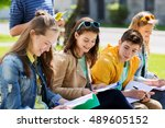 education  high school and... | Shutterstock . vector #489605152