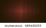 halftone vintage vector dots... | Shutterstock .eps vector #489630355