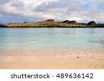 Santiago Island Seen From The...
