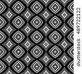 ethnic seamless pattern. vector ... | Shutterstock .eps vector #489722122