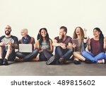 diverse people friendship