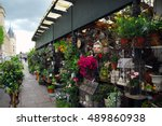 Flower Shop In The Street Pari...