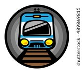 Subway Train Light Rail Car...