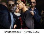 milan  italy   september 25 ...   Shutterstock . vector #489873652