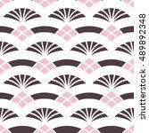 vector seamless pattern.... | Shutterstock .eps vector #489892348