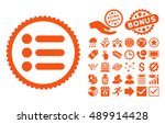 items icon with bonus icon set. ...