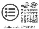 items icon with bonus symbols....