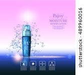 pajoy. moisture cream... | Shutterstock .eps vector #489960016
