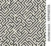 vector seamless pattern. modern ...   Shutterstock .eps vector #489968536