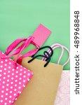 a studio photo of a shopping bag | Shutterstock . vector #489968848