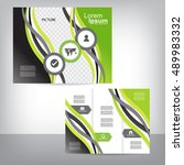 business brochure   Shutterstock .eps vector #489983332
