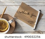 Thank You Writing Anniversary
