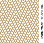 the geometric pattern by... | Shutterstock .eps vector #490041406