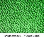 green concrete wall texture | Shutterstock . vector #490053586