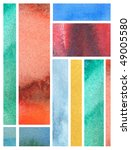 abstract watercolor background... | Shutterstock . vector #49005580