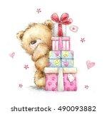 Childish Illustration  Of Cute  ...