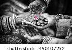 the promise   wedding   bride... | Shutterstock . vector #490107292