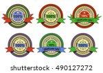 illustration of sale labels...   Shutterstock . vector #490127272