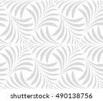 seamless pattern. floral... | Shutterstock . vector #490138756