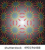 abstract dotted background | Shutterstock .eps vector #490196488