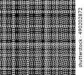 white stripes on black... | Shutterstock .eps vector #490202872