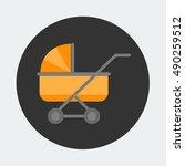 flat vector icon   illustration ... | Shutterstock .eps vector #490259512