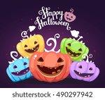 Vector Halloween Illustration...