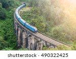 Blue Train Goes Through Jungle...